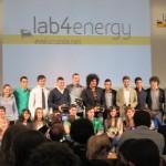 Cerimonia di premiazione Lab4Energy presso la Triennale di Milano